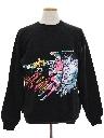 Unisex Totally 80s Sports Sweatshirt