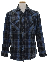 Mens Wicked 90s Flannel Western Shirt