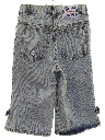 Womens Totally 80s Acid Wash Denim Shorts