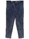 Womens Totally 80s Maternity Acid Washed Jeans Pants