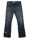 Mens Levis 526 Bootcut Flared Denim Jeans Pants