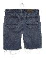 Mens Cut Off Denim Shorts