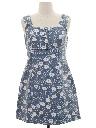 Womens Wicked 90s Denim Mini Dress