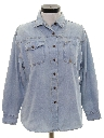 Womens Totally 80s Denim Shirt