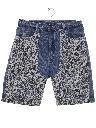 Womens Totally 80s High Waisted Denim Shorts