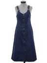 Womens Wicked 90s Denim Dress