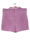 Womens High Waisted Knit Shorts
