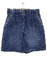 Womens Totally 80s High Waisted Denim Shorts