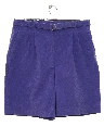 Womens Totally 80s High Waisted Corduroy Shorts