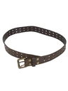 Mens Accessories - Wicked 90s Leather Belt