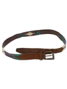Mens Accessories - Wicked 90s Western Leather Belt