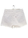 Womens Levis Cut Off Denim Shorts