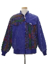 Unisex Totally 80s Color Block Jacket