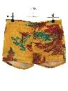 Mens Mod Hawaiian Swim Shorts