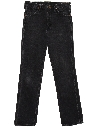 Mens Straight Leg Denim Jeans Pants