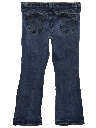 Womens Bootcut Flared Leg Denim Jeans Pants