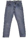 Womens Tapered Leg Boyfriend Denim Jeans Pants