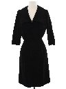 Womens Blended Wool Dress
