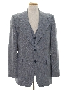 Mens Disco Blazer Sport Coat Jacket with Matching Vest
