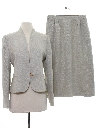 Womens Womens Skirt Suit