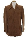 Mens Mod Safari Style Jacket