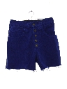 Womens Totally 80s Denim Cutoff Shorts