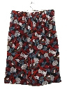 Womens Totally 80s Western Print Shorts
