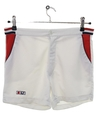 Mens Totally 80s Tennis Sport Shorts