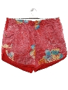 Mens Reverse Print Hawaiian Swim Shorts