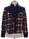 Mens Flannel Plaid Western Shirt