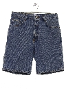 Mens Denim Jeans Style Shorts