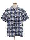 Mens Wicked 90s Plaid Shirt