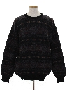 Mens Wool Totally 80s Cosby Style Sweater