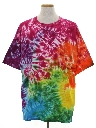 Mens Tie Dye Hippie T-Shirt