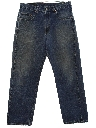 Mens Levis 569 Tapered Leg Loose Denim Jeans Pants