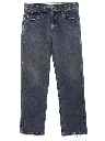 Mens Straight Leg Loose Fit Denim Jeans Pants