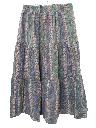 Womens Southwestern Style Hippie Skirt