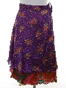 Womens Reversible Hippie Wrap Skirt
