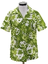 Womens Mod Hawaiian Inspired SHirt