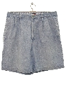 Mens Wicked 90s Preppy Denim Shorts