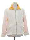 Mens Totally 80s Reversible Terry Cloth Wind Breaker Jacket
