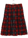 Womens Wool Skirt