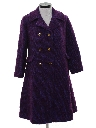Womens Wool Car Coat Jacket