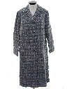 Womens Totally 80s Wool Car Coat Jacket