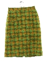 Womens Mod Wool Skirt