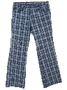 Mens/Boys Flared Leisure Pants
