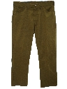 Mens Jeans-cut Western Pants