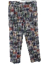 Mens Madras Slacks Pants