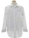 Mens Preppy French Cuff Shirt