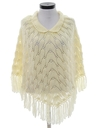 Womens Hippie Poncho Sweater